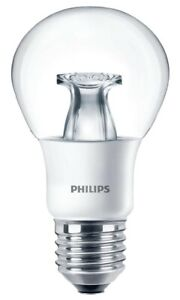 Philips E27 8.5W GLS Dimmable LED Bulb 2700K