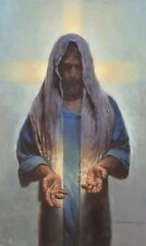 Morgan Weistling KNOWN BY HIS SCARS 14x11 double matted art print, Jesus Christ