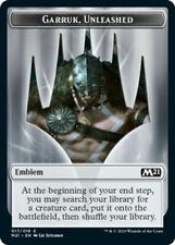 Garruk Unleashed Emblem NM M21 MTG Magic The Gathering English Card
