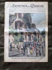La Domenica del Corriere 12 Maggio 1935 Lupa romana Gatti Genova Fascisti Sport