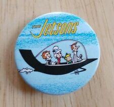 Vintage '82 The Jetsons Hanna Barbera Cartoon Animated Series button pinback pin