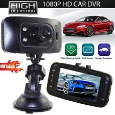 HD Car DVR Dash Cam Wide Angle Night Vision 2.4 in LCD Camera G capteur Rec USB!