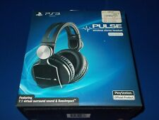 Official Sony PS3 PlayStation 3 Pulse Wireless Stereo Headset 7.1 Elite Ed. New