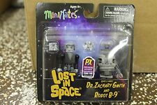 Mini Mates Lost in Space Dr. Smith and Robot B-9