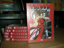 TRIGUN COMPLETA 1, 2, 3, 4, 5, 6 DVD INTROVABILE RARA