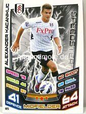 Match Attax 2012/13 Premier League - #085 Alexander Kacaniklic - Fulham