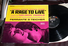 A RAGE TO LIVE Soundtrack United Artists Stereo NELSON RIDDLE Ferrante & Teicher