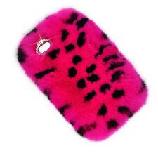 Cute Bunny Warm Fluffy Rabbit Fur TPU Soft Case For iPhone 5C/S SE 6S 7 8 Plus X