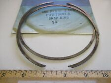 """2 PCS FORD 1986/1989 TAURUS & SABLE W/ATX TRANS. """"RING"""" DIRECT CLUTCH .052 thick"""