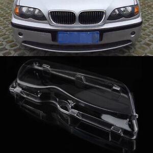 Right Side Headlight Cover Lens For BMW E46 3-Series 323i 325i 328i 4DR 98-01