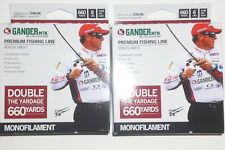 Gander Mountain 6# & 8# Monofilament Fishing Line (Lot of 2-660-Yards-Clear)