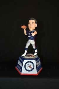 Tom Brady Patriots Forever Collectibles Clock Bobble Vintage Set #59 of 1,008