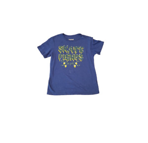 Basic Editions Skate Fiends T-Shirt Youth Large 10/12 Blue / Green / Yellow
