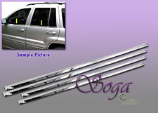 FOR 1999-2004 JEEP GRAND CHEROKEE CHROME STAINLESS STEEL WINDOW SILL SILLS 4PCS!