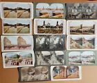 14 Antique Stereoview Cards Sweden and Norway