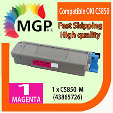 1x Magenta Compatible Toner cartridge for OKI C5850 C5950 MC560 Color Printer