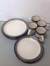 Mikasa Gourmet Basics Bailey 10 Piece Dinnerware Set READ/See Pics