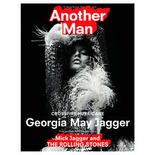 Another Man Magazine 22 SS 2016 Georgia May Jagger Willy Vanderperre Harley Weir