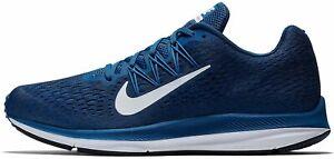 Nike Air Zoom Winflo 5 Trainer Gym Blue/White AA7406 400 UK Size UK 8 EU 42.5