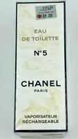 CHANEL NO 5 EAU DE TOILETTE 100 ml 3.4 fl oz VINTAGE SEALED BOX