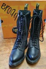 Dr. Martens Leather Lace Up Mid-Calf Boots for Women