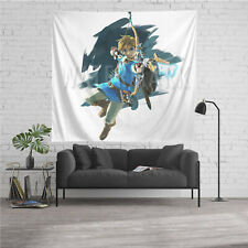 Legend of Zelda Personalized Custom Tapestry Art Wall Hanging Home Decor