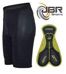 Gel Padded Cycling Shorts Road Bike MTB Cycle Bicycle Black JBR Sports Mens