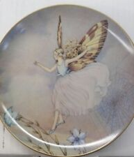 Bradford exchange Fairy Fantasy limited collector plate Spider'S Tightrope