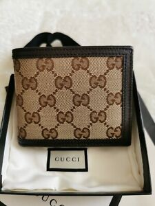 Authentic Gucci Men's Wallet - Brand New