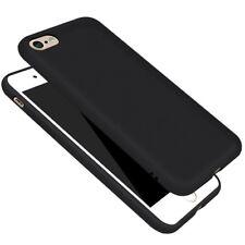 Slim Cover für iPhone 7 / 8 Case Schutz Hülle Silikon TPU schwarz matt