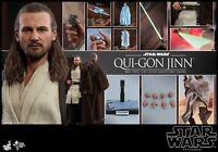 Hot Toys MMS 565 Qui-Gon Jinn 1/6 Star Wars Ep. 1: The Phantom Menace Figure
