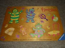 FIMBLES BOARD PEG PULL OUT JIGSAW PUZZLE - 8 PIECES CBEEBIES BBC (Ravensburger)
