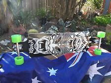 """Koston tailsman longboard skateboard 38.5"""" ABEC9 bearings 76x53mm 83a wheels"""