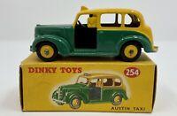 Dinky Toys No. 254 Austin Taxi in Original Box