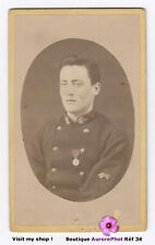 JEAN BERTRAND MILITAIRE OFFICIER RECRUTEMENT à HANOI, VIETNAM, CDV 1887-34