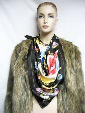 $595 Love ADAM L Faux Fur Winter Wear Coat Jacket Women Lady Animal Print Gift
