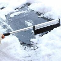 2 in 1 Ice Scraper w/ Brush Car Windshield Snow Ice Remove Broom Cleaner