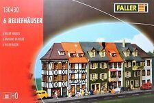 Faller 130430 H0 - sechs Reliefhäuser NEU & OvP