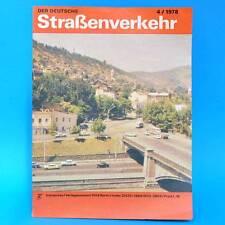 Der Deutsche Straßenverkehr 4/1978 DDR Ranc Camptourist CT 6-1 MZ TS 250/1 G
