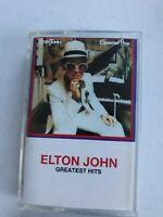 Elton John Greatest Hits Cassette tape