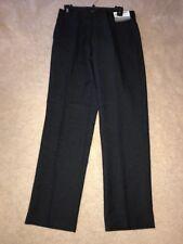 NWT Louis Raphael Modern Fit Flat Front, Weave effect, Dress Pants 30X30