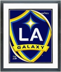 "Los Angeles Galaxy Team Logo Composite Photo (Size: 12.5"" x 15.5"") Framed"