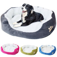 Pet Dogs Plush Bed Warm Sleeping Large Couch Pets Dog Mat with Removable Cover