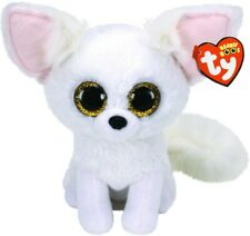 Ty Beanie Boos Phoenix The Artic Fox 15cm Glitter Eyes