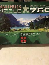 750 Piece Lake Louise Canadian Rockies Eurographics Jigsaw Puzzle New Sealed