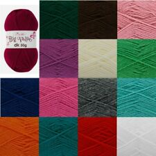King Cole Big Value DK Knitting Yarn 50g Double Knit Acrylic Wool