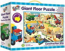 Galt GIANT FLOOR PUZZLE - CONSTRUCTION SITE Children Toys And Activities BNIP