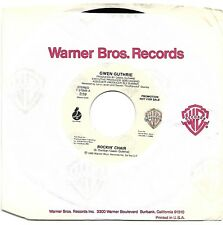 GUTHRIE, Gwen  (Rockin' Chair)  Warner Bros. 7-27849 = PROMOTIONAL record