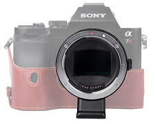 Auto Focus EF-NEX II MOUNT  Adapter  Canon EF-S Lens to Sony NEX A7 A7R Commlite