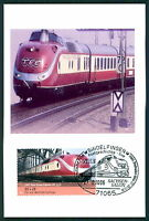 BRD MK EISENBAHN TEE TRAIN PRIVATE !! MAXIMUMKARTE CARTE MAXIMUM CARD MC CM bu94